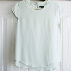 J.Crew | Mint Green Blouse